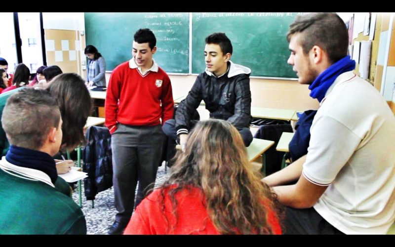 debate en el aula