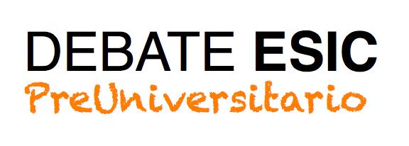 logo debate esic preuniversitario
